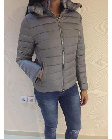 Kabát - szürke