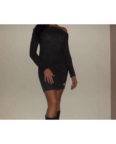 Miniruha - vállra húzható - fekete