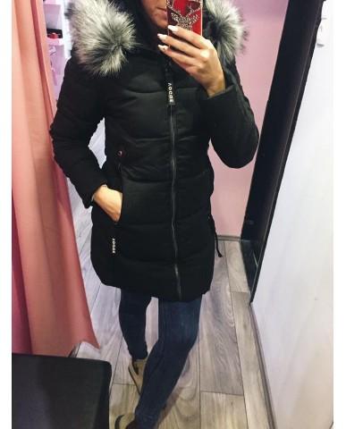 Kabát - fekete