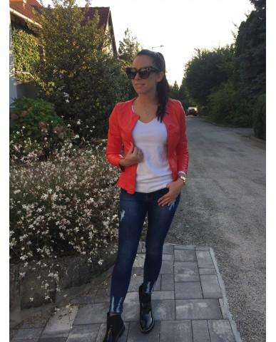 Amandine műbőr dzseki