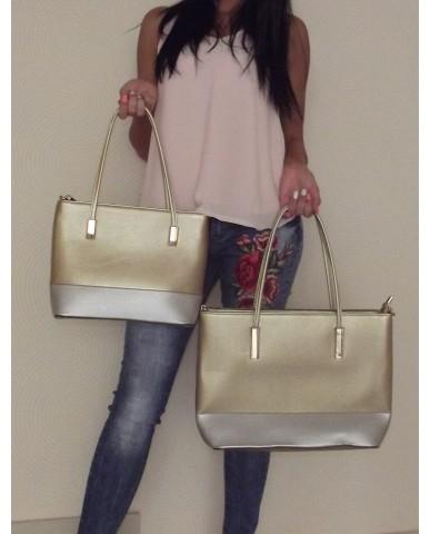 Arany/ezüst (nagyobb méret) táska