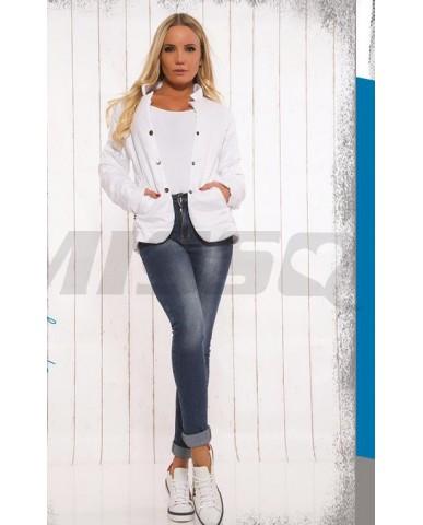 MISSQ D.Gina kabát - fehér