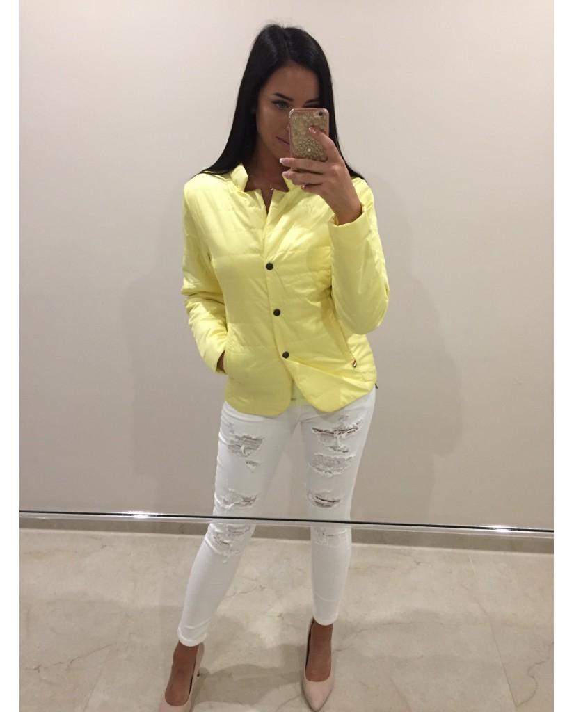 0bdf1fb2cf MISSQ D.Gina kabát - sárga