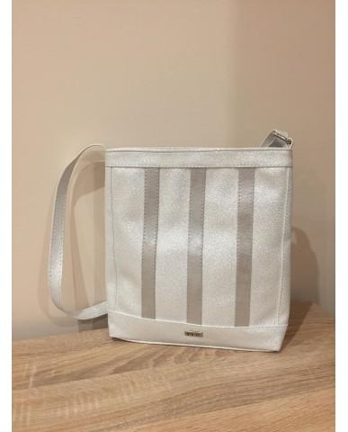 VIA55 ezüst táska