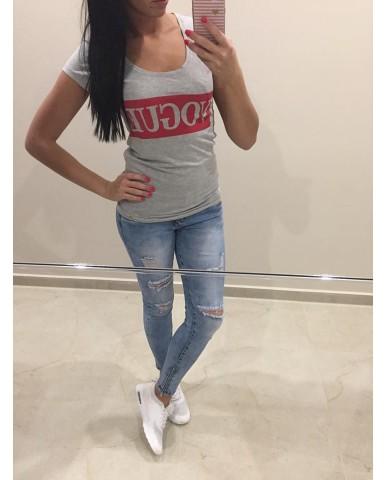 Vogue póló - fehér