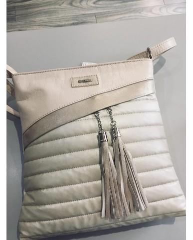 VIA55 bézs/arany táska