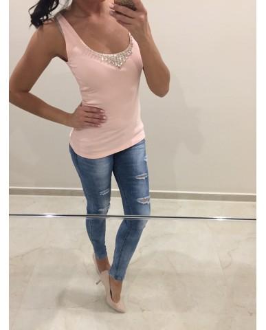 Giulia top - rózsaszín